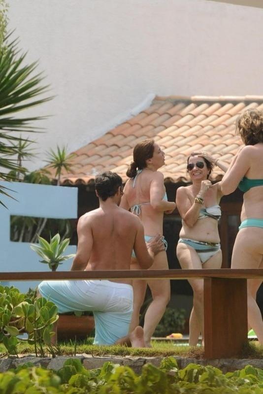 2.jan.2013 Thiago Lacerda aproveita férias em Búzios, no Rio de Janeiro. Em entrevista à
