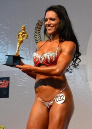 A fisiculturista Fabiana Caggiano Paes, morta no Réveillon de 2013 em Natal