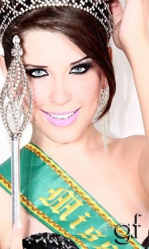 Andressa Ganacin já foi Miss Brasil Glamour