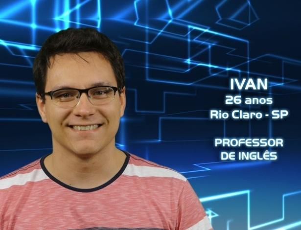 """Foto de divulgação do professor Ivan, participante do """"BBB13"""""""