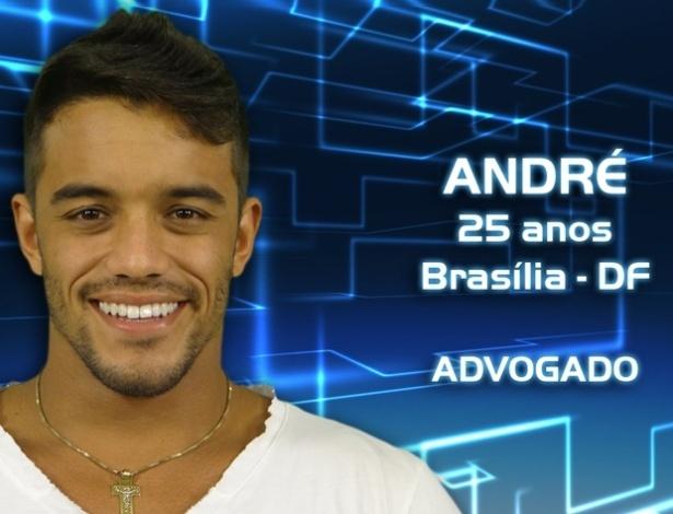 """Foto de divulgação do advogado André Coelho, participante da casa de vidro do """"BBB13"""""""