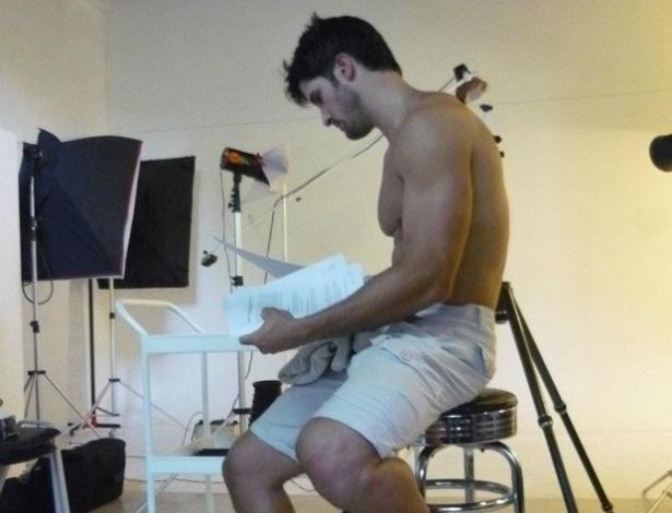 Marcello estrelou uma campanha de cuecas em 2012