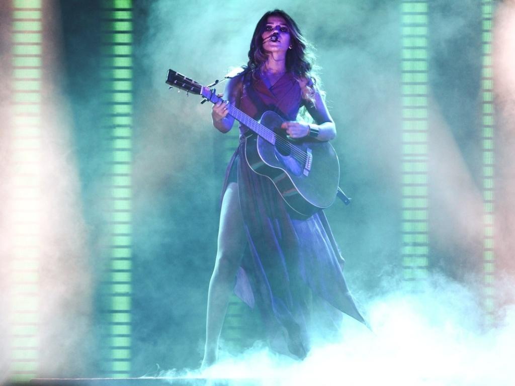 5.Jan.2013 - A cantora Paula Fernandes levou o show do CD