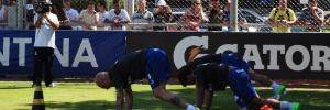 No Sul: Grêmio cria 'vigilância contra o migué' e filma os treinamentos físicos na pré-temporada