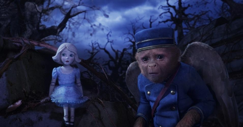 """Cena de """"Oz: Mágico e Poderoso"""", filme de Sam Raimi"""