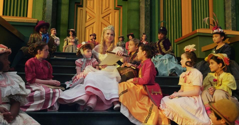 """Michelle Wiliiams em cena de """"Oz: Mágico e Poderoso"""", filme de Sam Raimi"""