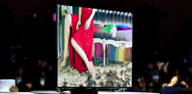 """Vendas de televisores de tela plana (foto) ultrapassaram às de """"TVs de tubo'' em 2010"""