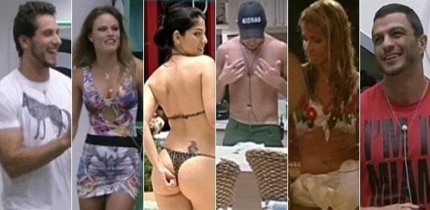 Eliéser, Natália, Anamara, Dhomini, Fani e Kleber Bambam, os ex-BBBs selecionados para participar do BBB13
