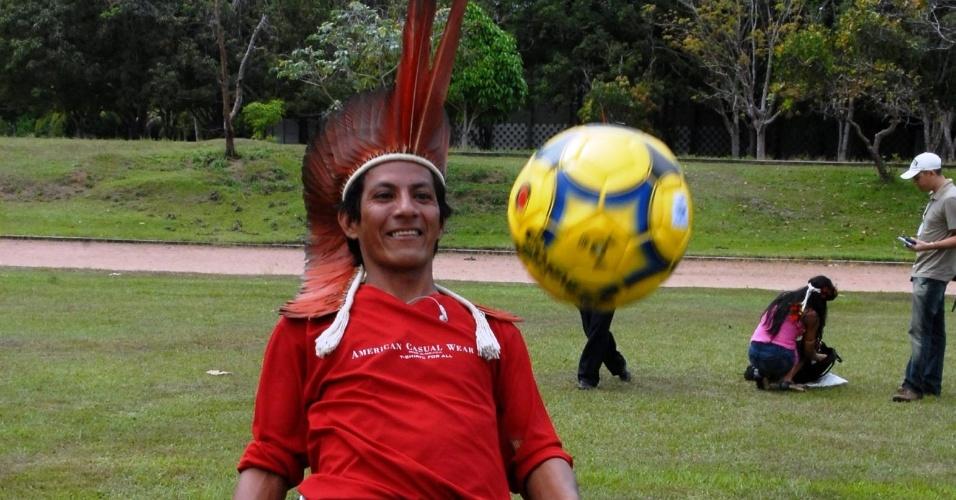 Categoria indígena é uma das atrações do torneio amador que completou 40 anos de existência