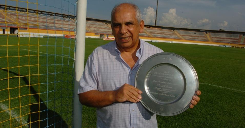 Radialista Arnaldo Santos Andrade é responsável pela condução do Peladão há quinze anos