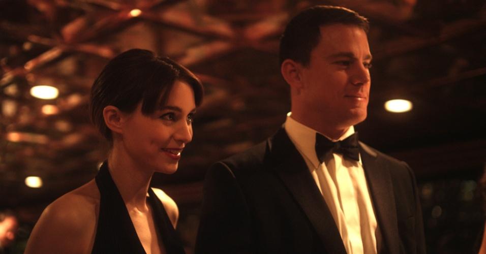 """10.jan.2013 - Cena do filme """"Side Effects"""", estrelado por Channing Tatum, Jude Law e Catherine Zeta-Jones, previsto para ser lançado em fevereiro nos EUA"""