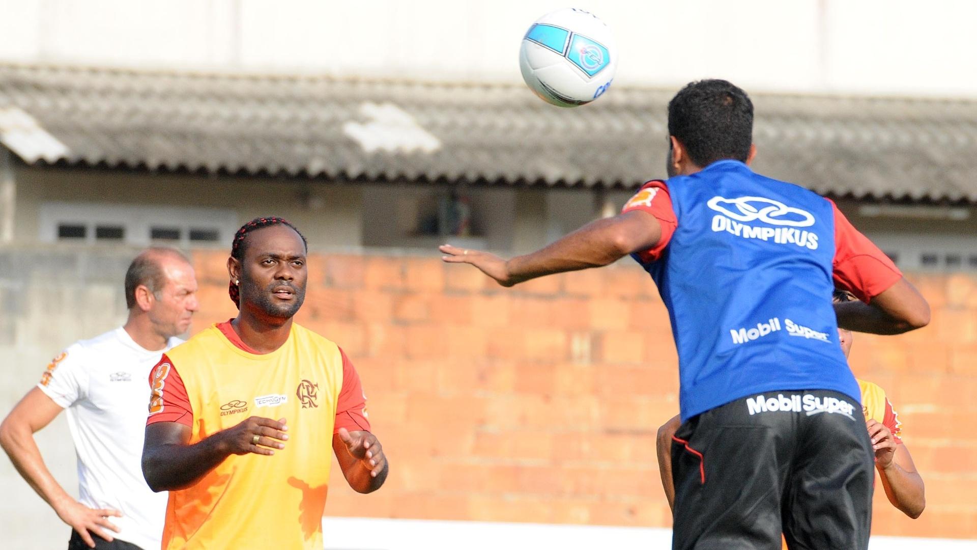 Flamengo treina durante sua pré-temporada no Ninho do Urubu