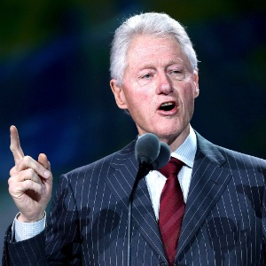 Bill Clinton, ex-presidente dos Estados Unidos