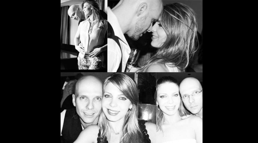 10.jun.2013 - Sheila Mello se declarou para o marido, o ex-nadador Fernando Scherer, o Xuxa, por meio de sua página do Twitter