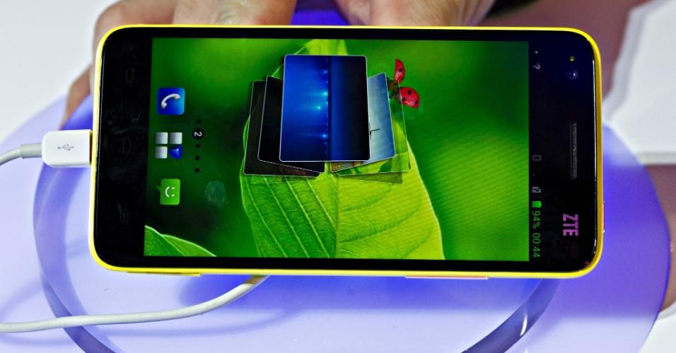 O Grand S, com tela de resolução Full HD de 5 polegadas, tem alta densidade de pixels, maior até que o Galaxy S III e o iPhone 5. São 1080 pixels x 1920 pixels ou 441 ppi (pixels por polegada).  A novidade da ZTE será vendida no mercado chinês a partir do próximo trimestre, ainda sem preço definido