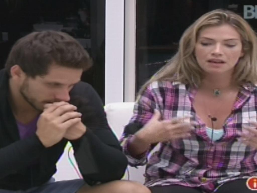 Ao lado de Eliéser, Fani diz que passou a admirar Bambam após discussão com Aline