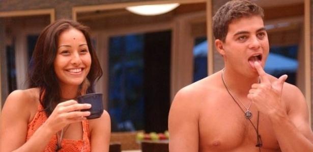 Dhomini e Sabrina Sato viveram um intenso romance dentro da casa em meio a muita diversão