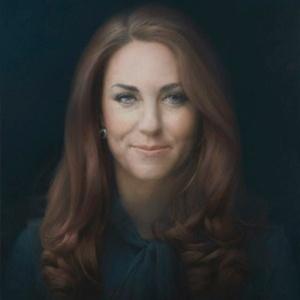 Primeiro retrato oficial de Kate Middleton foi pintado pelo artista Paul Emsley