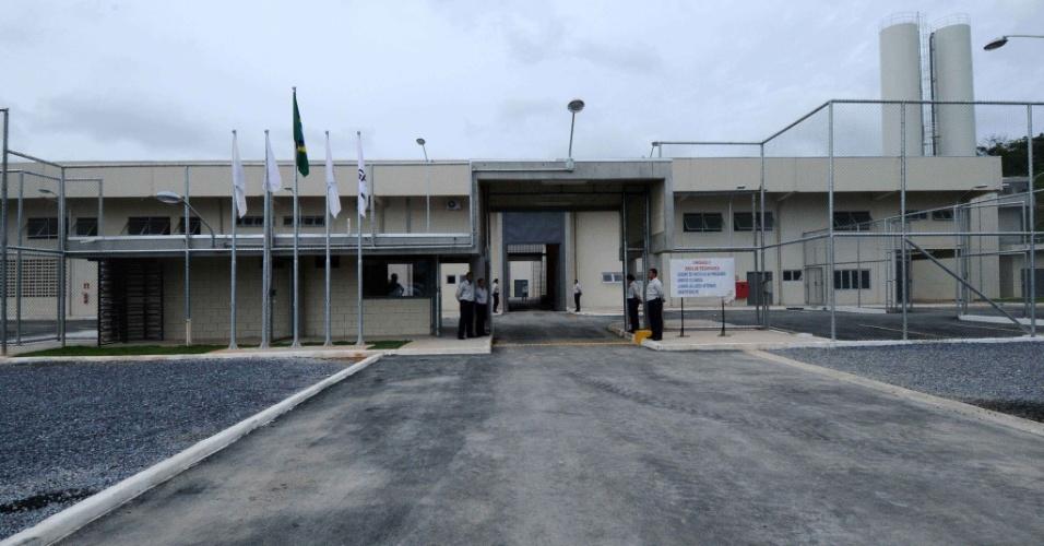 15.jan.2013 - Complexo penitenciário em Ribeirão das Neves, na região metropolitana de Belo Horizonte, o primeiro presídio privado do país