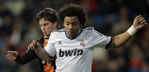 Mesmo no banco do Real Madrid, Marcelo teve seu contrato renovado com os merengue