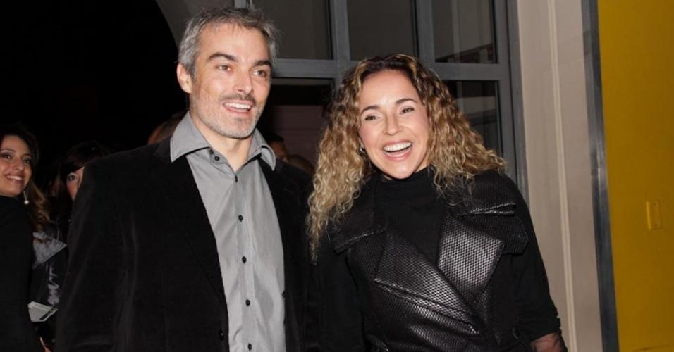 Após casamento de três anos, a cantora Daniela Mercury e o publicitário Marco Scabia estão separados