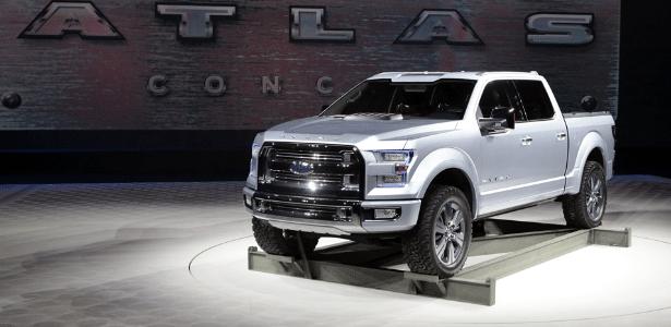 Ford Atlas Concept foi considerado por algumas mídias americanas como