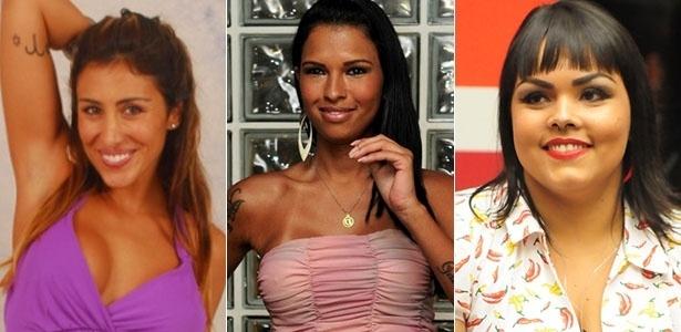 "Jaque Khury, Ariadna Arantes e Analice Souza deixaram o ""BBB"" na primeira semana"