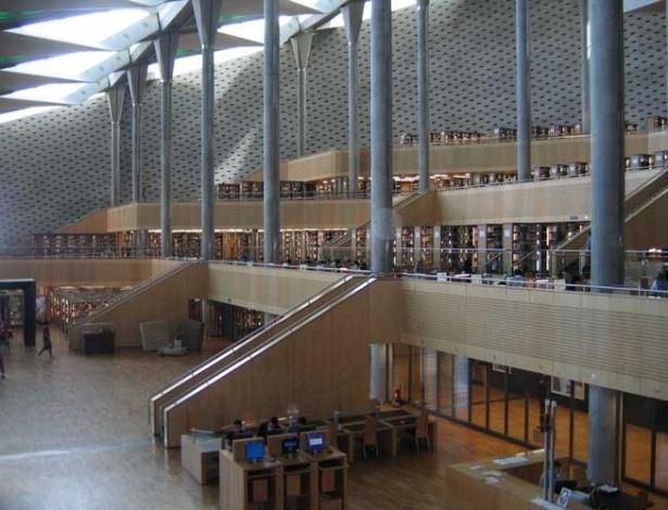 Em 2002, a Grande Biblioteca de Alexandria, no Egito, foi reinaugurada, totalmente modernizada. Foram gastos cerca de US$ 250 milhões
