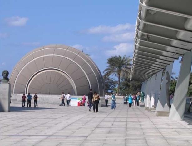 Planetário da Grande Biblioteca de Alexandria, no Egito