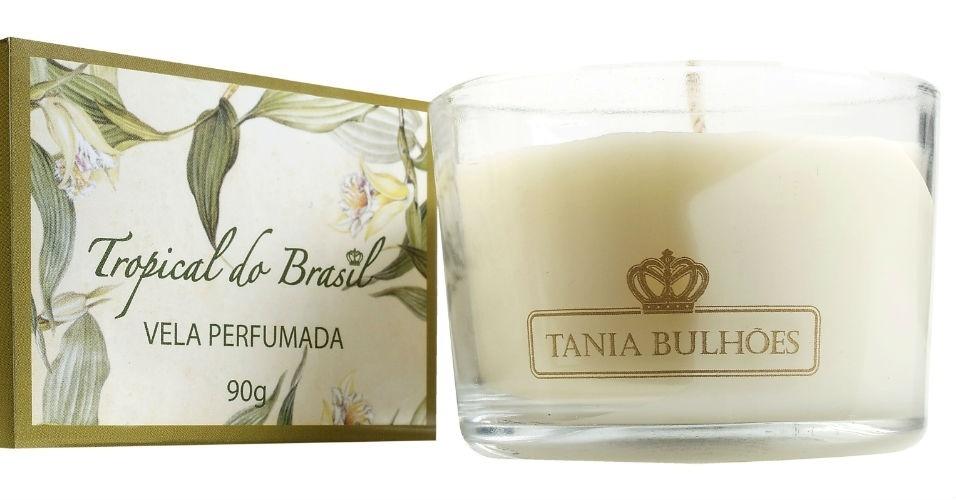vela perfumada, Tânia Bulhões