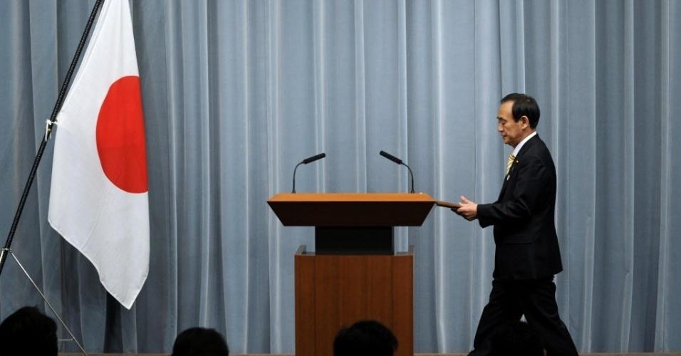 17.jan.2013 - O porta-voz do governo do Japão, Yoshihide Suga, comunicou que Tóquio enviará à Argélia o vice-ministro das Relações Exteriores, Minoru Kiuchi, para acompanhar de perto o sequestro de dezenas de trabalhadores estrangeiros, inclusive japoneses, realizado por um grupo jihadista em represária à ação francesa no Mali