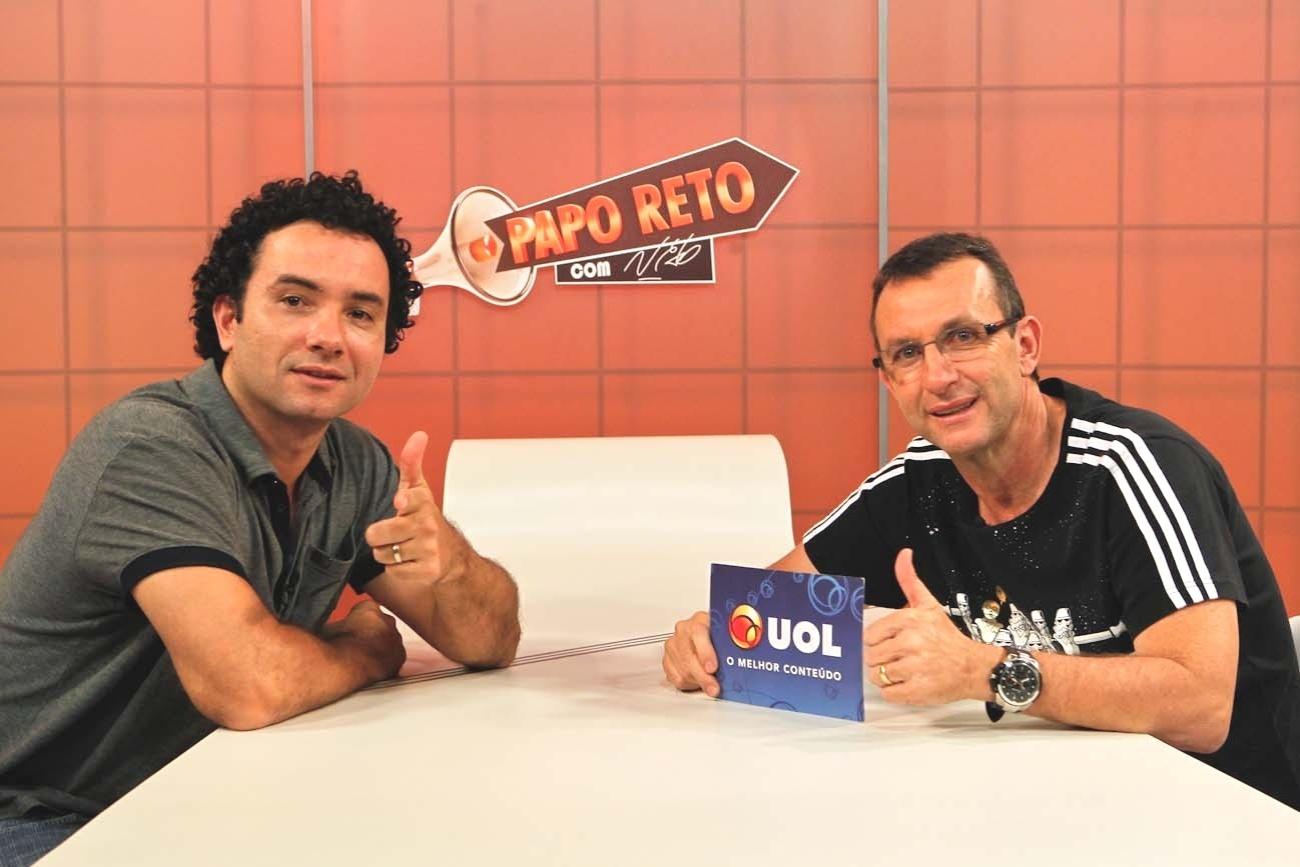 Humorista e ex-jogador de futebol, Marco Luque participa do