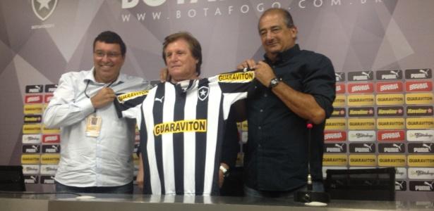 Botafogo e Guaraviton ampliaram acordo até o fim de 2013, mas valores são sigilosos