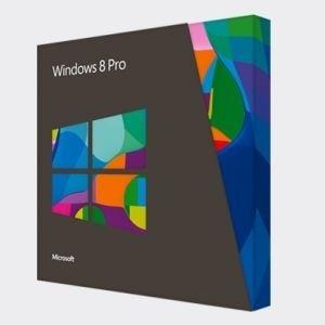 Microsoft deve alterar a caixa do Windows 8 Pro (acima), deixando claro para o consumidor que não se trata de uma versão completa (full)