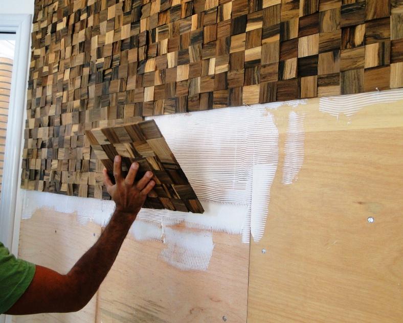 passo a passo - instalação de painel de madeira (imagem cedida ao