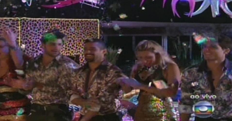 19.jan.2013 - Brothers curtem festa ao som de Gaby Amarantos