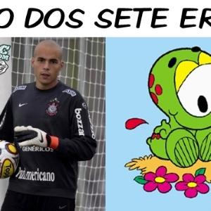 Corneta FC: Em jogo dos sete erros, todos são de Julio Cesar