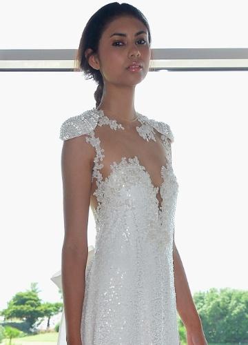 Imagem com opção de segundo vestido de noiva - Samuel Cirnansck