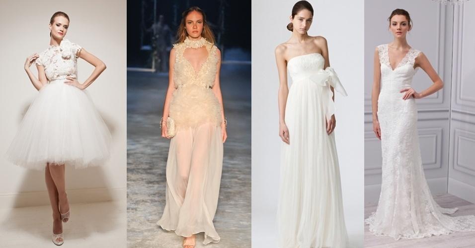 para chamar a galeria com opções de segundo vestido de noiva