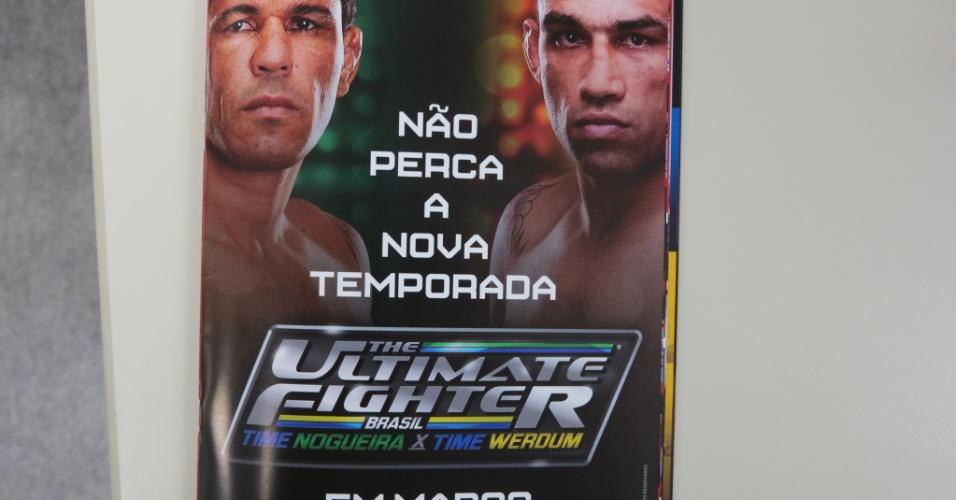 Propaganda de divulgação do TUF Brasil 2