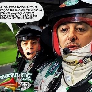 Corneta FC: Tirone apresenta o rally palmeirense para Paulo Nobre