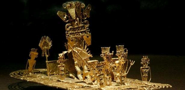 Arqueólogos afirmam que o mito da cidade perdida feita de ouro foi mal interpretado. Para o povo muiscas, El Dorado não era um lugar, mas um líder muito rico que se cobria de pó de ouro