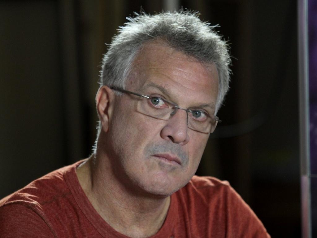 23.jan.2013 - Pedro Bial participou de uma entrevista para lançar o documentário