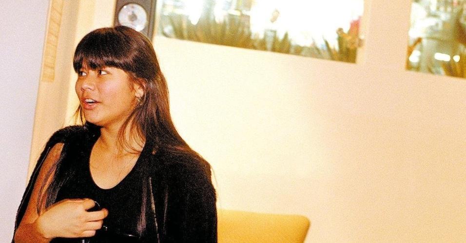 """Eunice Baía aos 13 anos, época em que filmou o segundo filme da franquia """"Tainá"""""""