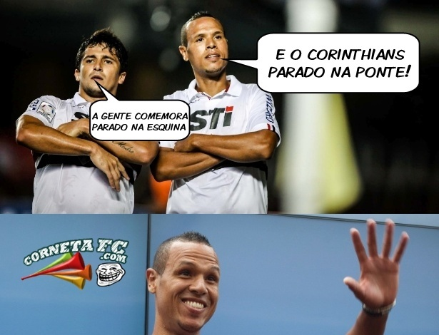 Corneta FC: Fabuloso comemora e tira onda com Corinthians