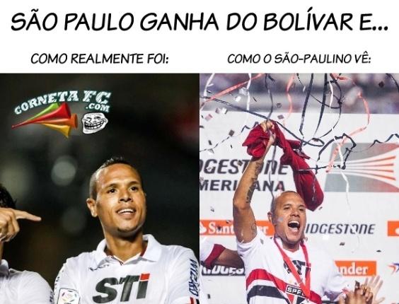 Corneta FC: Veja o ponto de vista são-paulino após bater o Bolívar