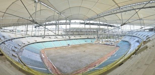 Sindicato diz que obras da Arena Fonte Nova só terminam dia 20 de março