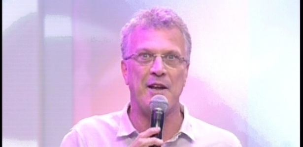29.jan.2013 - Pedro Bial comanda o terceiro paredão do