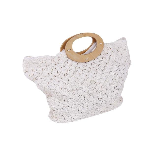 Bolsa De Mão Feita De Croche : Bolsa de praia feita ? m?o em croch? pictures to pin on