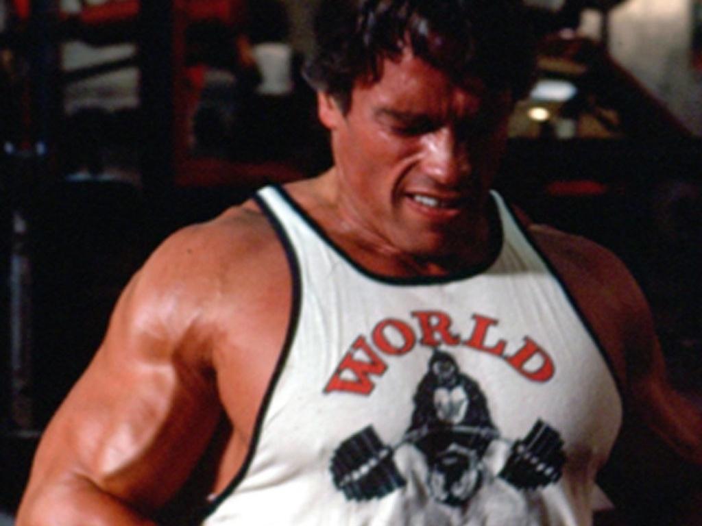 13.nov.2003 - Arnold Schwarzenegger em cena do documentário